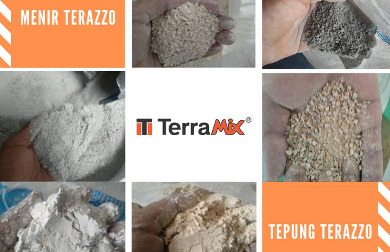 Review Bahan Teraso Cor Produksi Terramix
