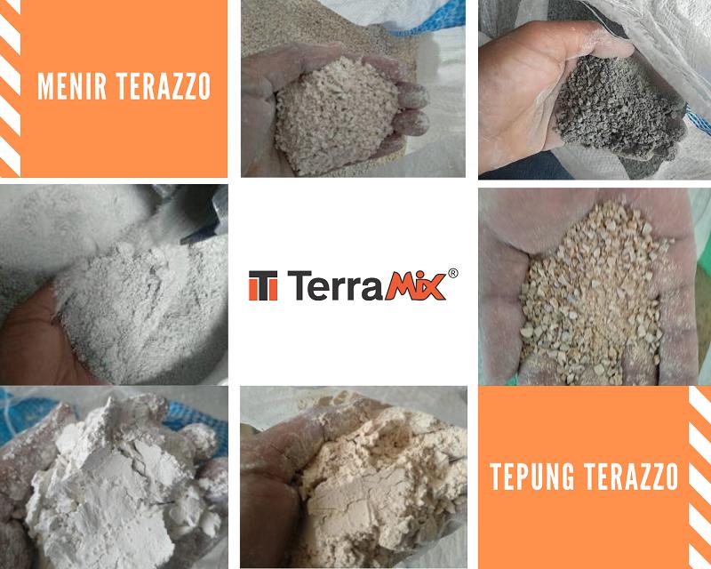 Review Bahan Teraso Cor Produksi Terramix : Berkualitas dan Praktis